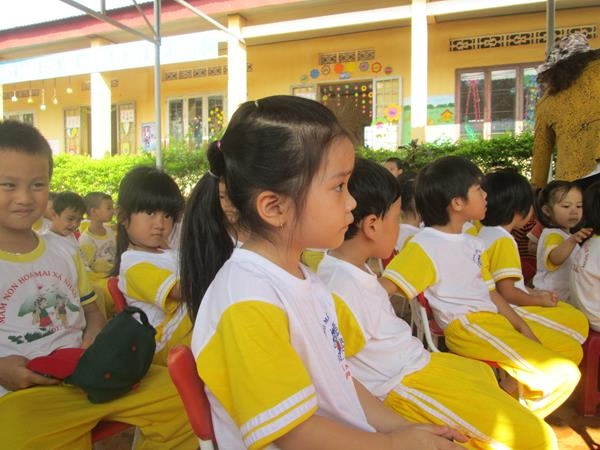 Tặng hai giếng khoan cho trường Hoa Mai và Chùa Hoa Khai 5
